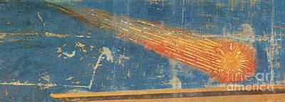 Halleys Comet, 1301 Art Print
