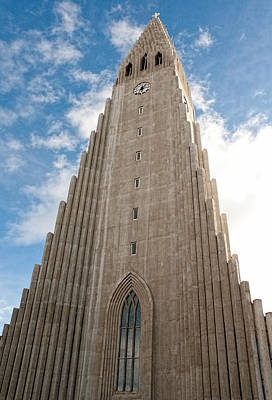 Photograph - Hallgrimskirkja by Kristia Adams