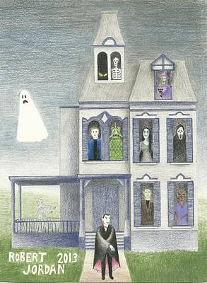 Halloween 2013 Original by Bob Jordan