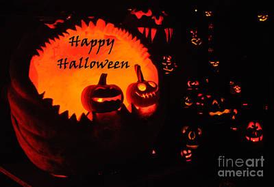 Photograph - Halloween Card No. 1 by Luke Moore