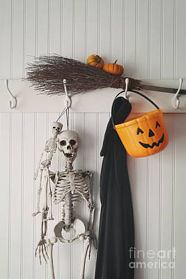 Photograph - Halloween Costumes And Decorations by Sandra Cunningham