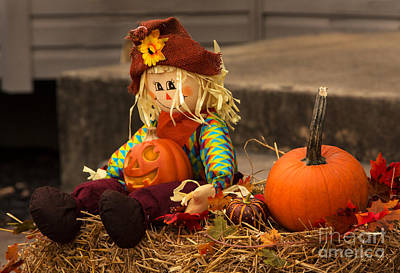 Jacko Photograph - Halloween Doll by Iris Richardson