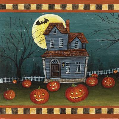Halloween Eve Art Print