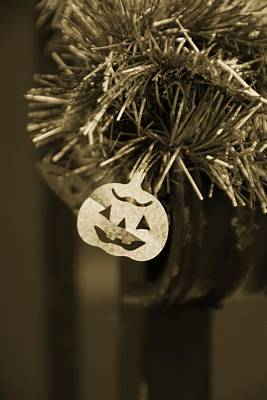 Photograph - Halloween Greetings by Marianna Mills