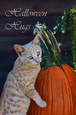 Photograph - Halloween Hugs by Nikolyn McDonald