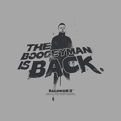 Halloween Digital Art - Halloween II - Boogeyman by Brand A