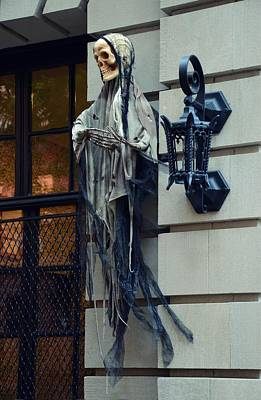 Photograph - Halloween In New York by Marianna Mills