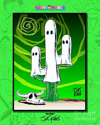 Prescott Mixed Media - Halloween by Joe King