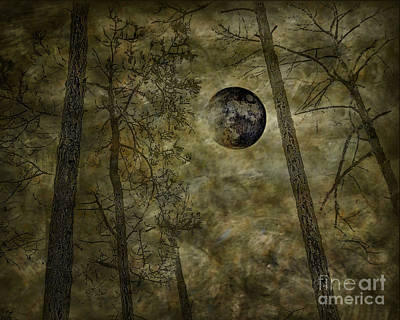 Photograph - Halloween Moon by Walt Foegelle