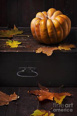 Halloween Pumpkin Art Print by Jelena Jovanovic