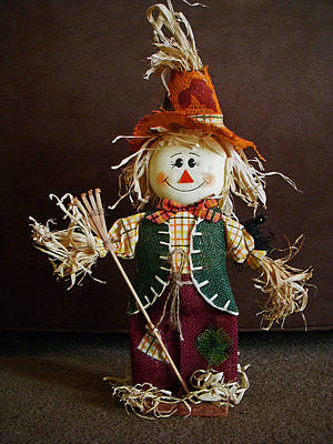 Photograph - Halloween Scarecrow by Aimee L Maher ALM GALLERY