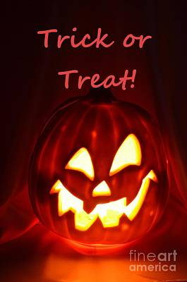 Photograph - Halloween Trick Or Treat by Mary Deal