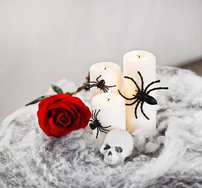 Photograph - Halloween  by U Schade