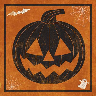Halloween Digital Art - Hallows Eve I by Sd Graphics Studio