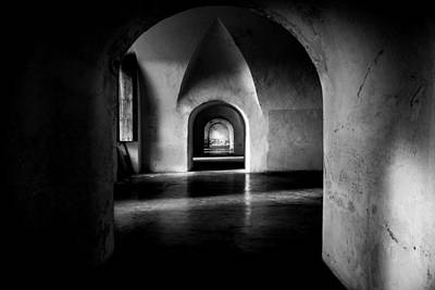 Old Fort Photograph - Halls by Kristopher Schoenleber