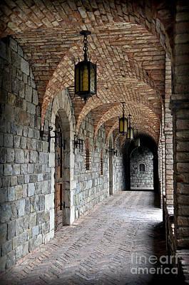Photograph - Halls Of Castello Di Amorosa by Gina Savage