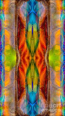 Digital Art - Halls Of Clarity Abstract Healing Artwork By Omaste Witkowski by Omaste Witkowski