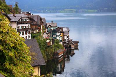 Photograph - Hallstatt And Lake by Susan Leonard