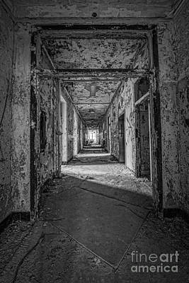 Hallway Grunge Bw Original