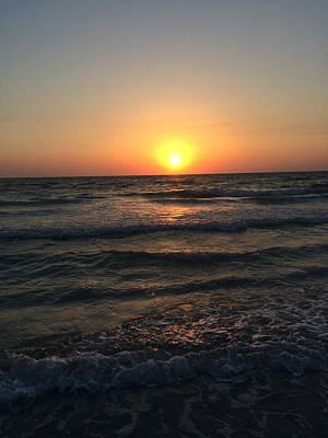 Photograph - Halo Sun At Indian Rocks Beach by Nicki La Rosa