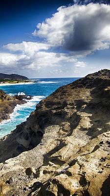 Halona Blowhole Lookout- Oahu Hawaii V2 Art Print