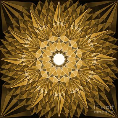 Test Pattern Digital Art - Halqah by Cam Macfarlane