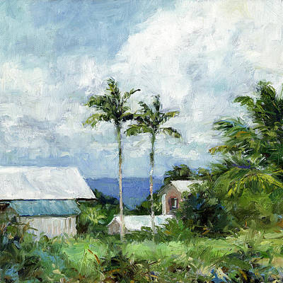 Haleiwa Painting - Hamakua Coast View by Stacy Vosberg
