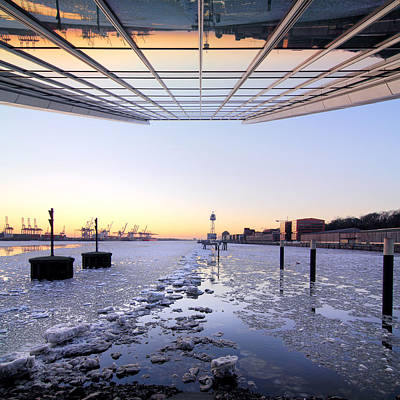 Hamburg Dockland Art Print by Marc Huebner