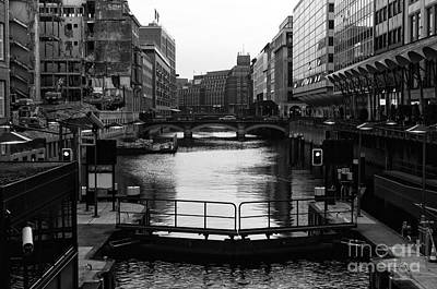 Photograph - Hamburg Rebirth Mono by John Rizzuto