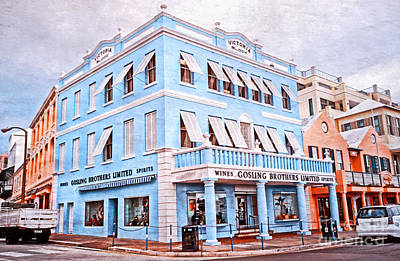 Photograph - Hamilton Bermuda by Charline Xia