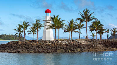 Photograph - Hamilton Island Lighthouse by Shannon Rogers