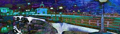 Digital Art - Hamilton Ohio City Art 8  by Mary Clanahan