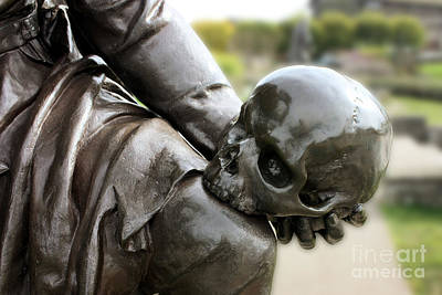 Photograph - Hamlet Contemplating The Skull  by Terri Waters