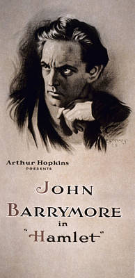 Painting - Hamlet Poster, 1922 by Granger