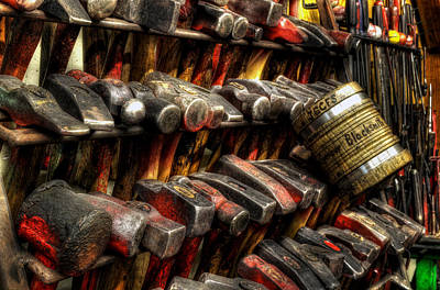 Photograph - Hammered by Greg Mimbs