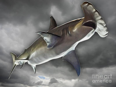Painting - Hammerhead by Gregory Dyer