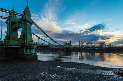 Hammersmith Bridge Art Print