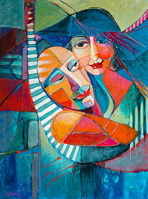 Hammock Dreams Art Print by Jennifer Croom