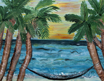 Painting - Hammock Dreams by Susan Abrams