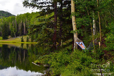 Photograph - Hammock Mountain Lake by Kate Sumners