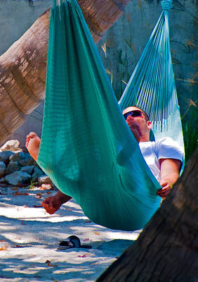 Photograph - Island Hammock Time by Ginger Wakem