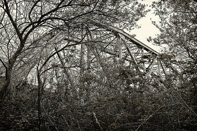 Photograph - Hammond Bridge by Jon Exley
