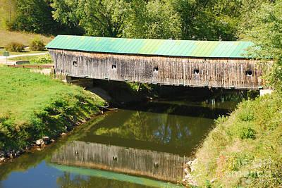 Photograph - Hammond Covered Bridge by Mary Carol Story