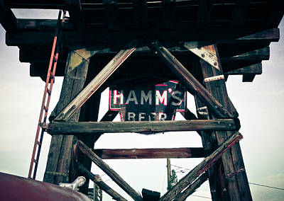 Beer Royalty-Free and Rights-Managed Images - Hamms Beer by Merrick Imagery