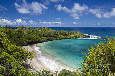 Photograph - Hamoa Beach Maui by David Olsen