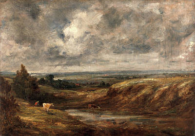 Hampstead Painting - Hampstead Heath, John Constable, 1776-1837 by Litz Collection