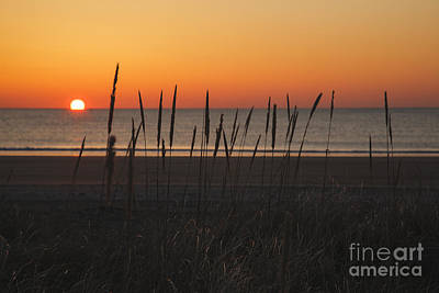 Hampton Beach State Park - Hampton New Hampshire Usa Art Print by Erin Paul Donovan