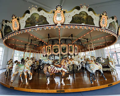 Hager Wall Art - Photograph - Hampton Carousel No. 1a by Greg Hager