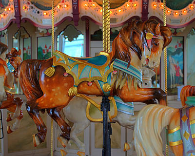 Hager Wall Art - Photograph - Hampton Carousel No. 3a by Greg Hager