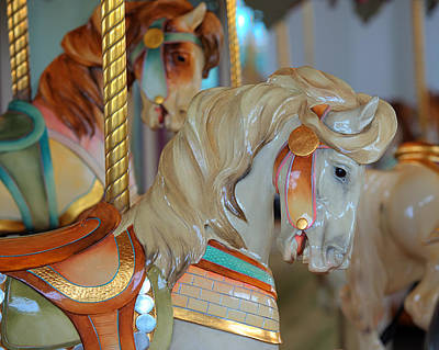 Hager Wall Art - Photograph - Hampton Carousel No. 4a by Greg Hager
